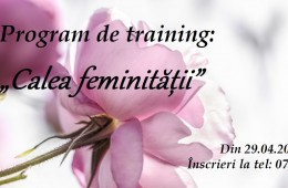 "Program de training ""Calea Feminității"""