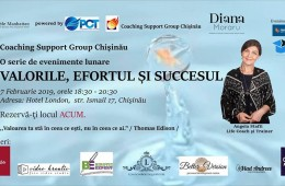 Coaching support group - Valorile, Efortul si Succesul