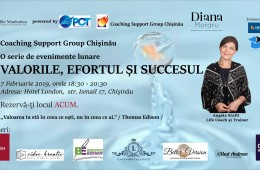 Noble Manhattan Coaching lanseaza Coaching Support Group la Chisinau